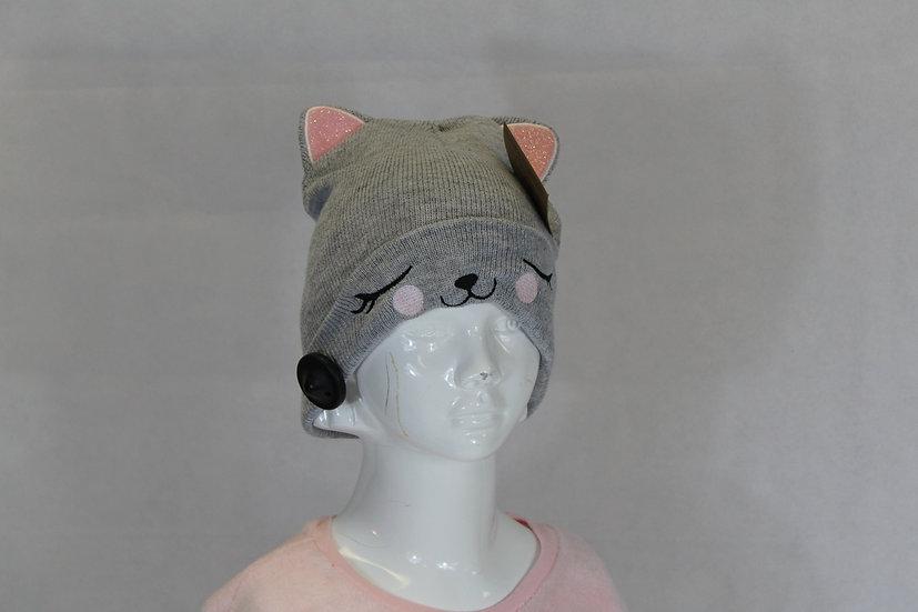 Bonnet Tête de chat Fille