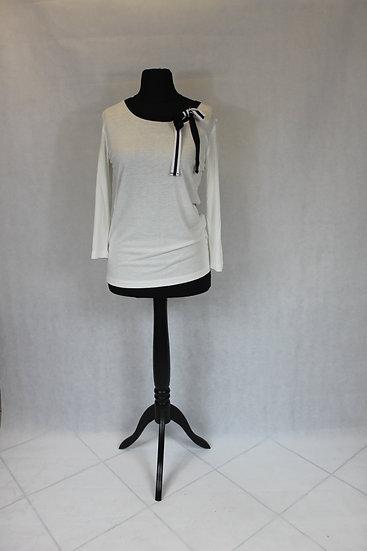 Haut M 3/4 Noir noeud Blanc ou Blanc noeud Noir
