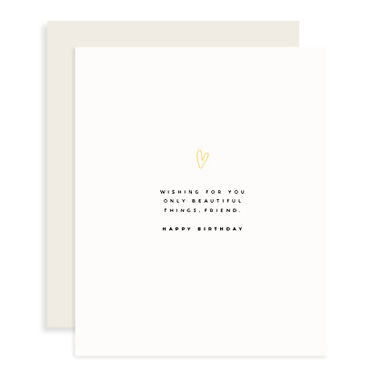 Only Beautiful Things Card