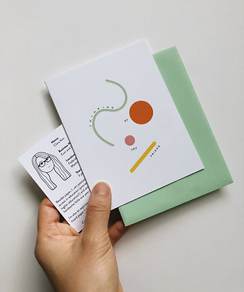 Limited Edition: Euni + Co.  x The Paper Craft Pantry Collaboration Card