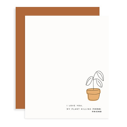 Plant Friend Card