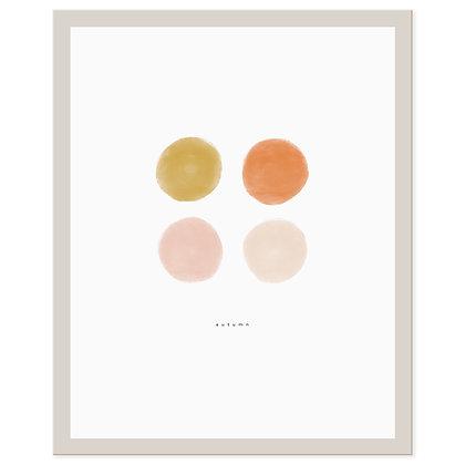 Autumn Palette Print