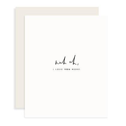 Nuh Uh Card