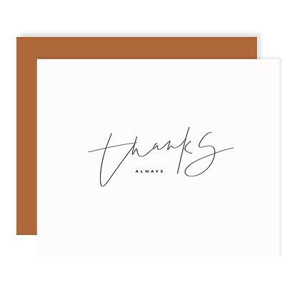 Thanks Darling Card