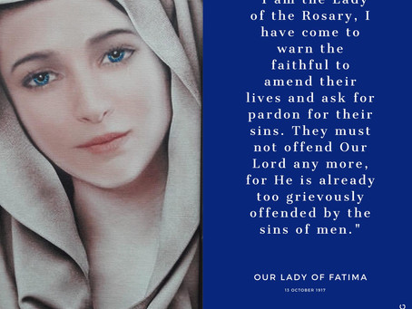 Final message at Fatima