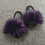 Thumbnail: Raccon Fur Sandals Furry Fluffy Plush Shoes