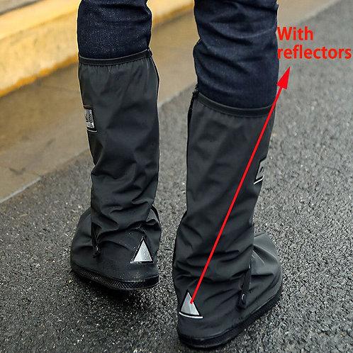 Waterproof Shoes Covers Women Men  Motorcycle Cycling Bike Rain Boots