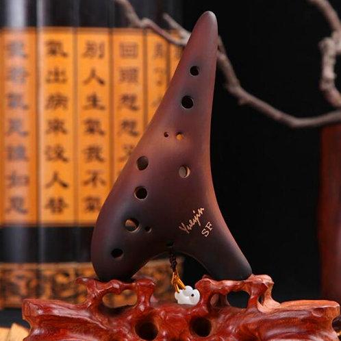 12 HolAlto C/Soprano C F G Flute Ceramic Smoke Burn 12 Holes