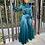 Thumbnail: Satin Long Sleeve Tunic Jumpsuit Classy Wide JumpSuit