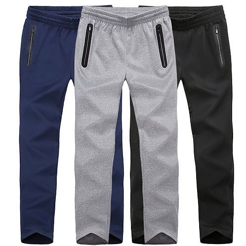 Plus Size  Sport Trousers Pants Workout Stretch Jogger Homewear Trousers Men