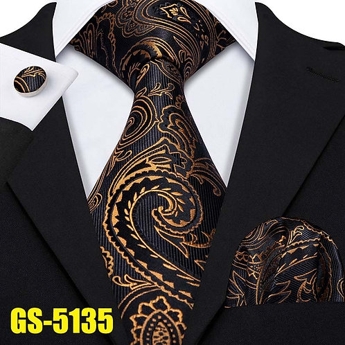 100% Silk Jacquard Woven 7 Colors Solid T 8.5cm