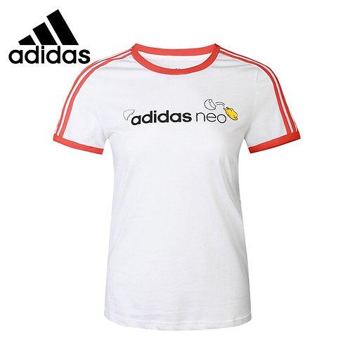 ADIDAS  NEO W GDTM RING TEE Women's  T-Shirts Short Sleeve Sportswear