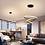 Thumbnail: Black/White/Coffee  Led Pendant   Circle Rings Aluminum light Lamp Fixtures