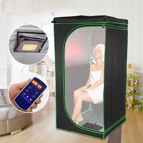 220V Portable Folding Sauna Skin Spa Therapy Weight Losing Steamer Facial Care