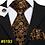 Thumbnail: 100% Silk Jacquard Woven 7 Colors Solid T 8.5cm