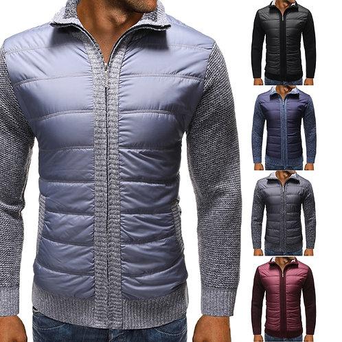 Men's Jacket Sweater Jacket Men's Casual Clothes Slim Version Zipper Cardigan