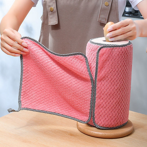 Kitchen, Non-Stick Oil, Thickened Table Cleaning Cloth, Absorbent Scouring Pad