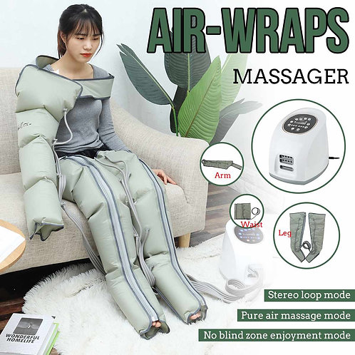 4 Air Chambers Compression Massager Multifuction Pneumatic Relax Pain Relief
