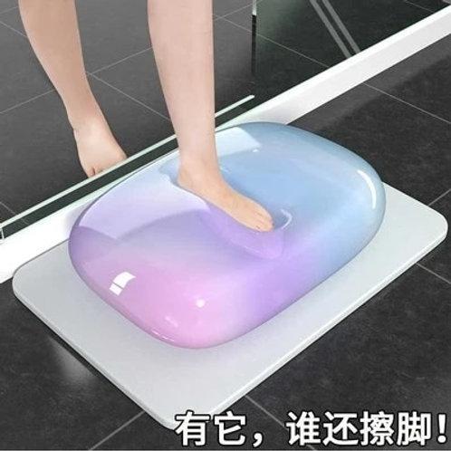 Bathroom Door Quick-Dry Diatomite Mat, Toilet Absorbent Mat, Diatom Mud