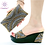 Thumbnail: Shoes and Bag Set  Women Slippers  Sandals High Quality