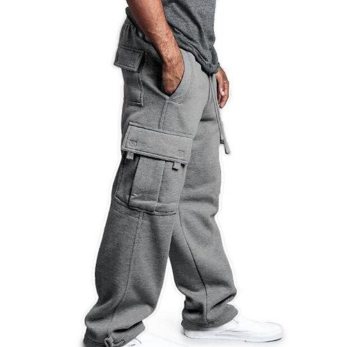 Joggers Sweatpants Men Streetwear Big Pocket Cargo Pants Casual Baggy Trousers