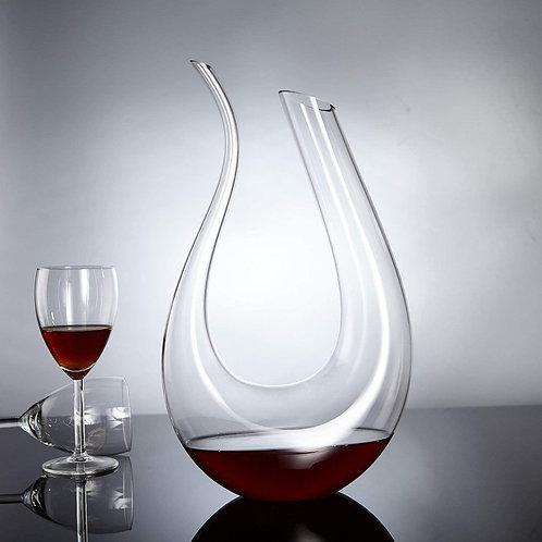 U Shaped Wine Decanter