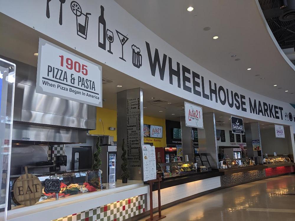 international drive food hall at ICON Park Wheelhouse Park