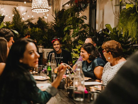 The Heavy Launches Weekly Supper Club With 5 Courses and Lots of Staging