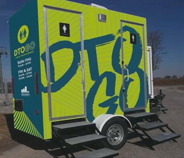 DTO GO Downtown Orlando Public Restroom Pilot Program
