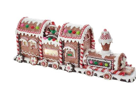 Ride the Gingerbread Express to Downtown Winter Park