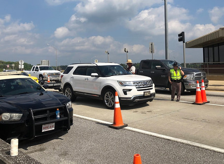 One of Two Checkpoints for Screening Travelers Entering Florida Has Been Deactivated