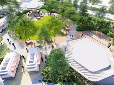 Office Parks Adding Food Halls and Food Truck Parks to Keep and Attract Tenants