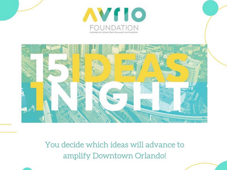 Placemaker Soiree - Pick Ideas to Bring Creativity to Downtown Orlando