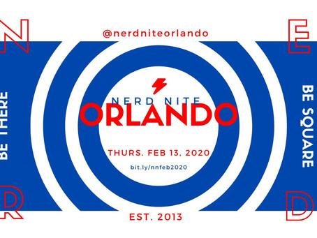 Nerd Nite Orlando - February 2020