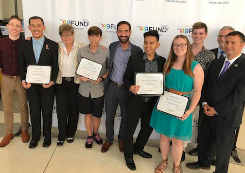 THE 49 FUND AT THE CENTRAL FLORIDA FOUNDATION TO MARK PULSE ANNIVERSARY WITH SCHOLARSHIPS FOR EIGHT LOCAL LGBT STUDENTS