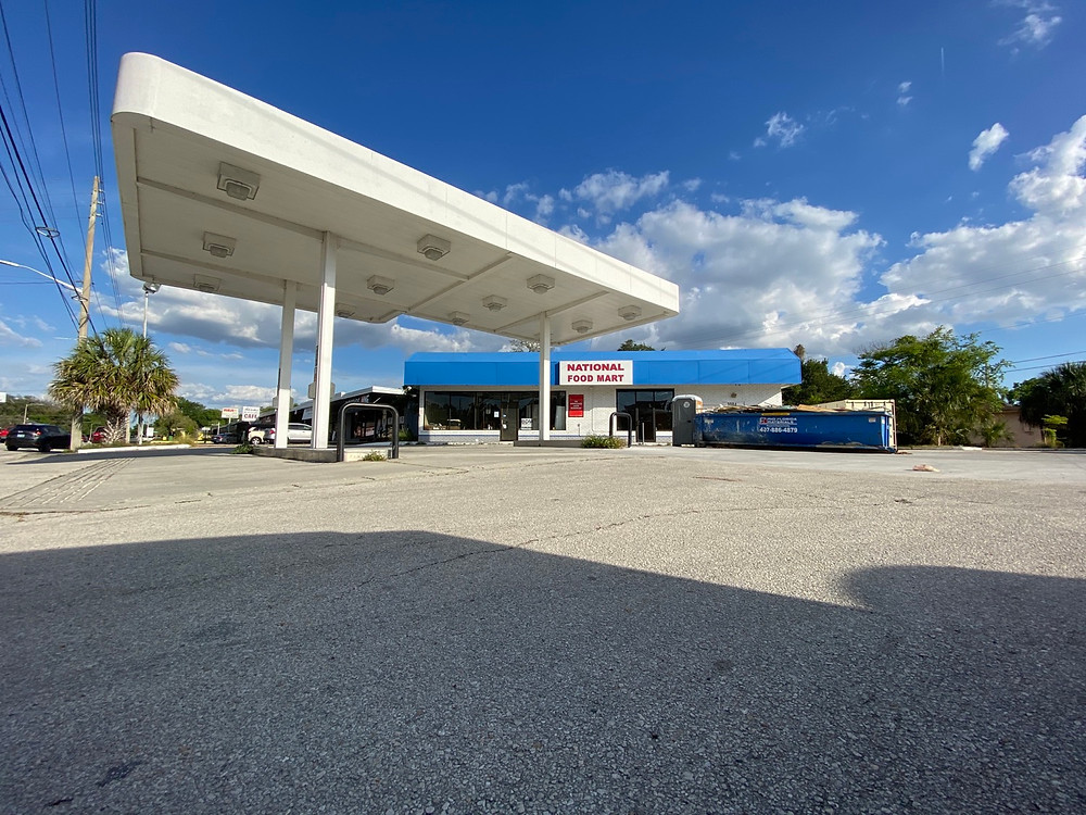 audubon park gas station