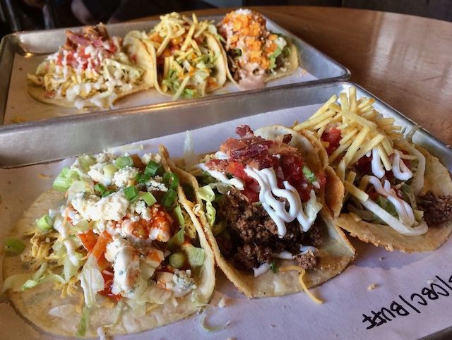 Tin & Taco opened in Winter Park. These are tacos plated deliciously.