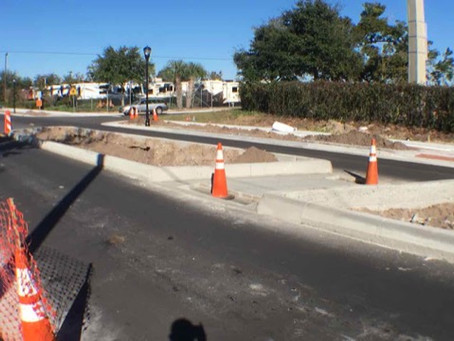 PHOTOS: Denning Drive Complete Streets Phase One