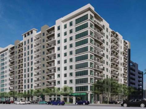 A New Downtown 368-Unit Apartment Building Is Under Construction