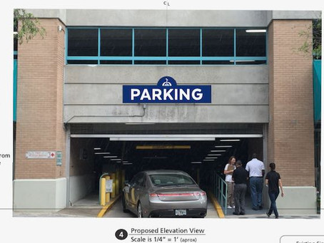 New Wayfinding Signage Coming to 5 Downtown City Parking Garages
