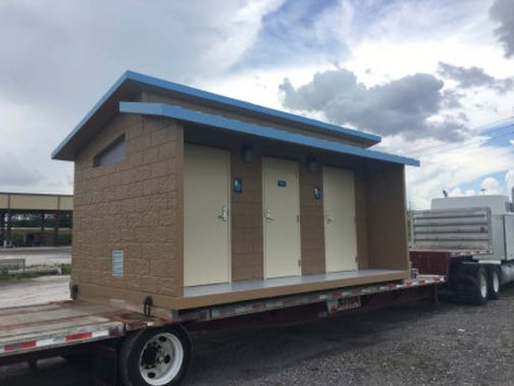 City May Spend $300,000 For Two Park Bathrooms
