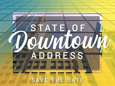 State of Downtown Address Coming in October