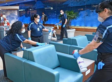Orlando International Airport Increases Cleaning in Response to Coronavirus
