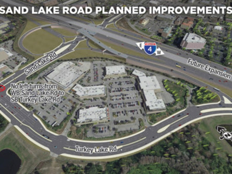 Daryl Carter Parkway and Sand Lake Road Interchange Design Plans Topic of FDOT Open House