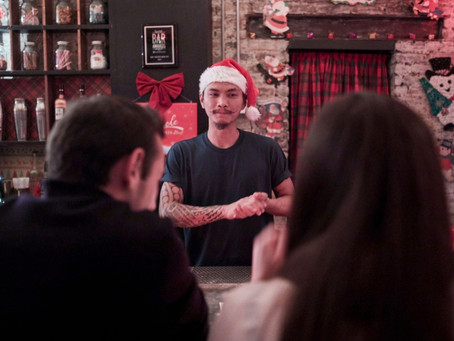 Two Local Bars Transformed Into Pop Up Holiday Cocktail Bars for the Season
