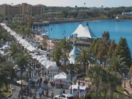 8th Annual Uptown Art Expo - A Celebration of Art and Music at Cranes Roost Park