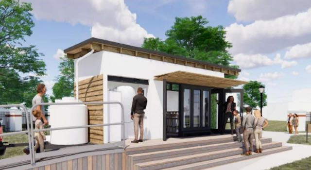 Tiny Green Home Mobile Sustainability Education Center Coming from Orlando Green Works