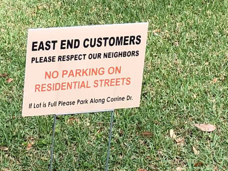 Winter Park Residents Do Not Want You to Park Behind East End Market