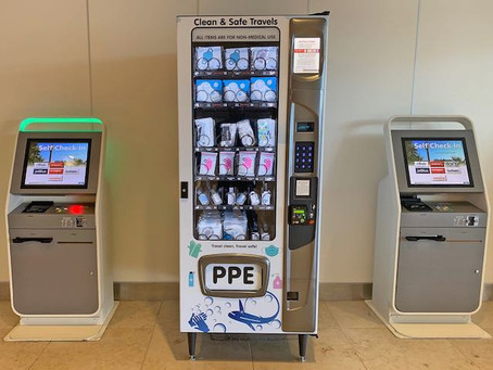 PPE Vending Machines Installed at Orlando International Airport