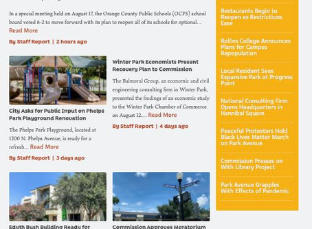 Local marketing agency Findsome & Winmore launches hyperlocal Winter Park news site the32789